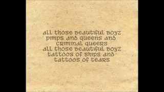 CocoRosie feat. Antony Hegarty - Beautiful Boyz (Lyrics)