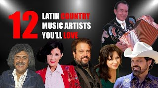 12 LATIN COUNTRY MUSIC ARTISTS YOU´LL LOVE