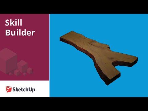 Modeling a Live Edge Slab - Skill Builder