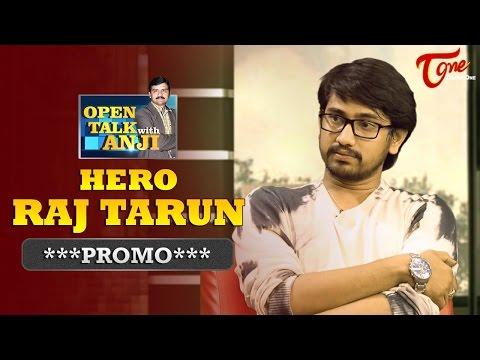 Young Hero Raj Tarun Exclusive Interview Promo | Open Talk with Anji | #07