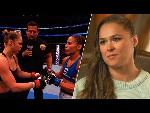 """Me and Liz Carmouche felt bigger"" – Ronda Rousey on UFC vs. WWE"