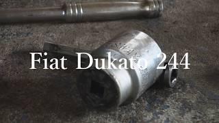 видео Замена ступицы - замена подшипника ступицы Fiat (Фиат)