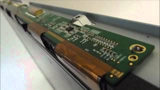 LCD TV Fault Repair Diagnostics - Vertical Band