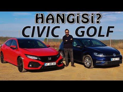 VW Golf Vs Honda Civic - Hangisi?