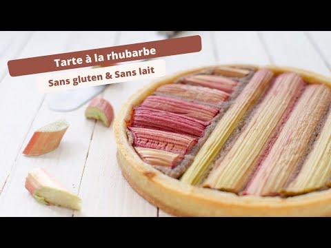 Tarte à la rhubarbe sans gluten : Recette facile et rapide
