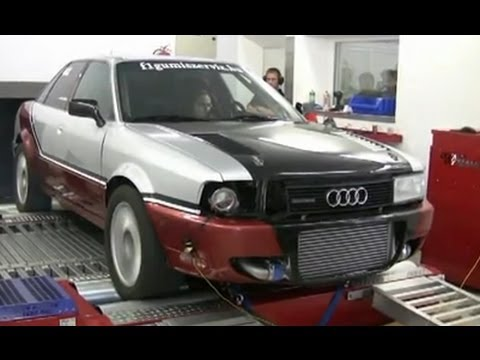 Audi 90 Quattro Turbo [Feco] At Dyno [780 Ps / 920 Nm]