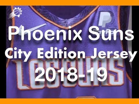 Phoenix Suns NBA City Jerseys 2018-19 (My Thoughts) #NBACityJerseys #NBA