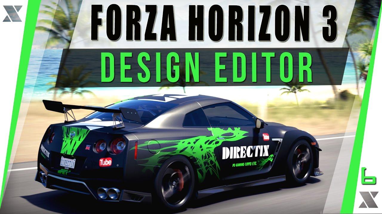 Forza horizon 3 pc eigenen skin entwerfen lets play - Is forza horizon 3 4k ...