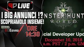 🔴 I BIG ANNUNCI ! Monster Hunter World Developer Update !