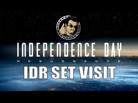Celebrate Independence Day with our IDR Set Visit Preview (HD) Independence Day: Resurgence 2016