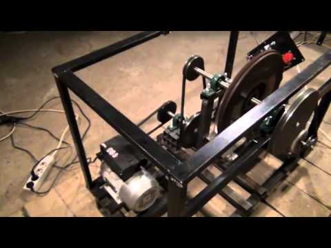 Chas Chambell Free Energy Generator Replica - Generating 2340 Watts ...