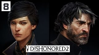 Dishonored 2 Gameplay Part 8 - Shadow Walk Best Ability? - Lets Play Walkthrough Stealth PC
