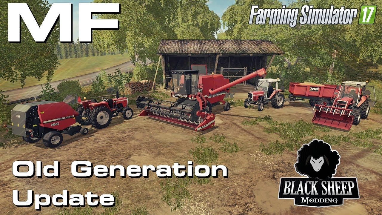FS17 MF Old Generation 1970- 1990 MAJOR UPDATE ( 1-2 weeks)
