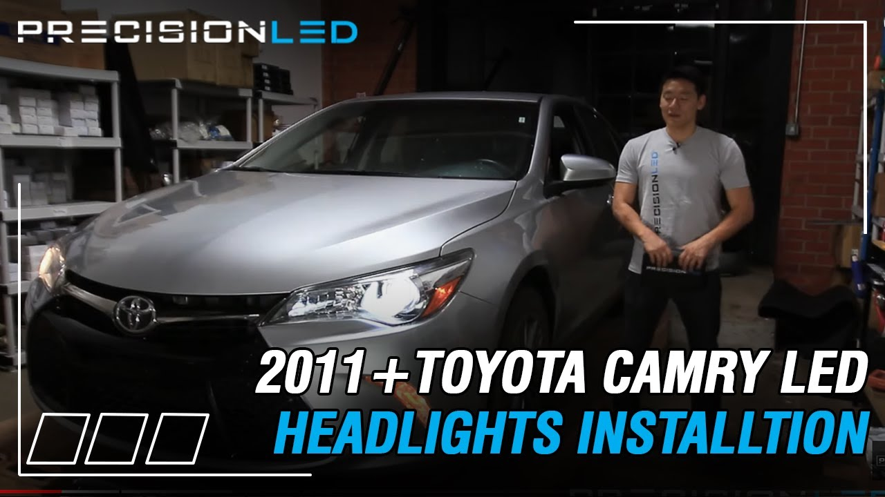 Toyota Camry LED Headlights How To Install  2011  YouTube
