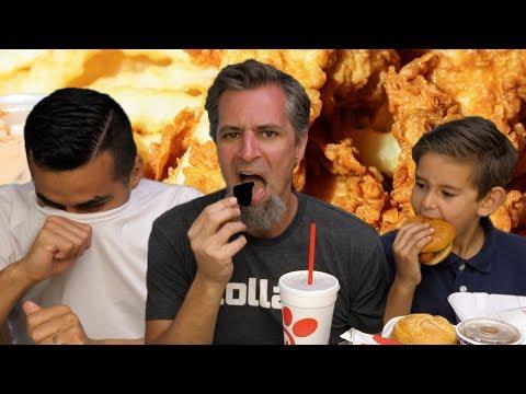 Chick-fil-A, Raising Cane's, Diet Food Mukbang w/David Lopez