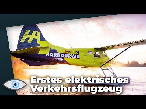 Eine neue Ära: Das erste elektrische Verkehrsflugzeug hebt ab