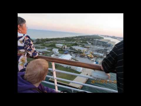 Our trip on the cruise ship Oasis - November 2012