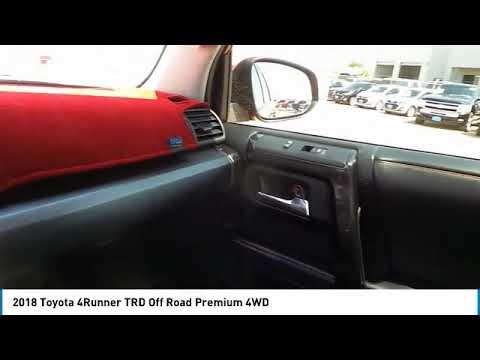 2018 Toyota 4Runner Midland Texas J5555844T