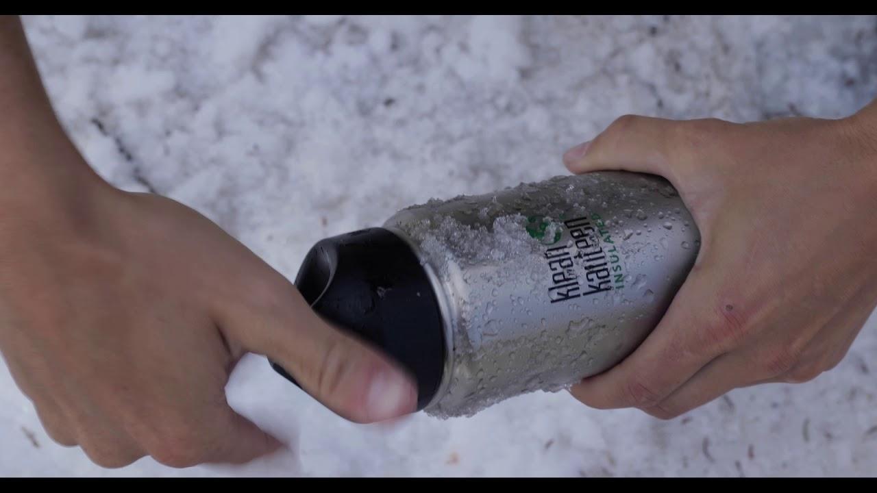 Insulated Water Bottle 32oz, Stainless Steel Bottle | Klean