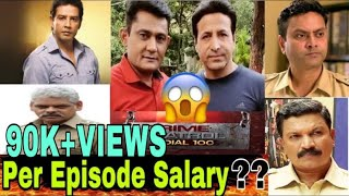Actor Salaries Per Episode