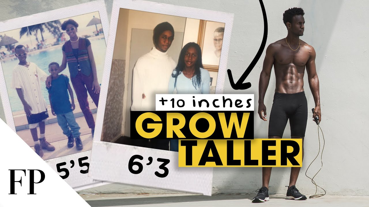 What I did to GROW TALLER // Crazy Growth Spurt Story