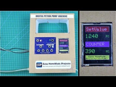 How To Make Digital Petrol Pump Machine Using Arduino