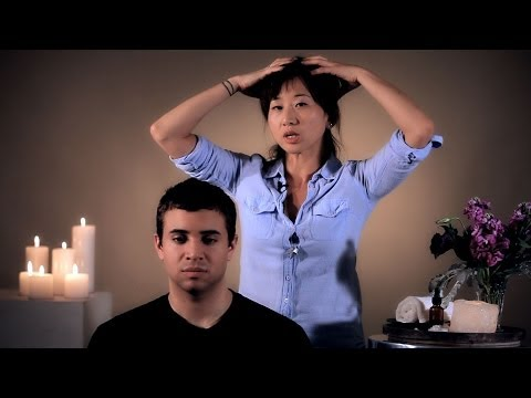 How to Self-Massage Your Scalp | Head Massage