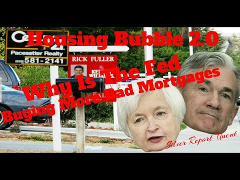 Housing Bubble 2.0! Why is the Fed Buying Toxic Mortgages Again