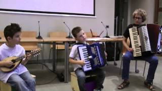 Suzuki Accordion Project - Presentation in Aosta (Italy) - 2013