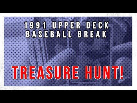 Searching: 1991 Upper Deck Michael Jordan Baseball Card!