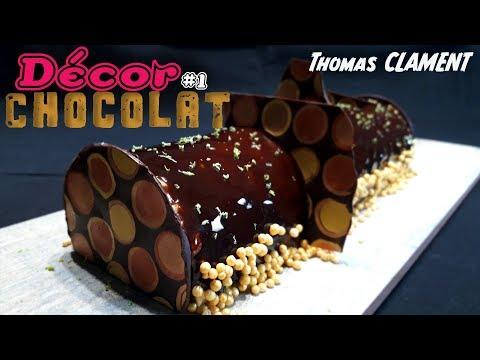 Comment faire un décor en chocolat #1