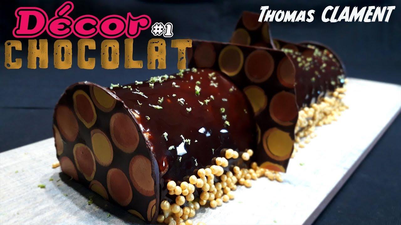 Comment faire: Décor en Chocolat 1 / Thomas CLAMENT