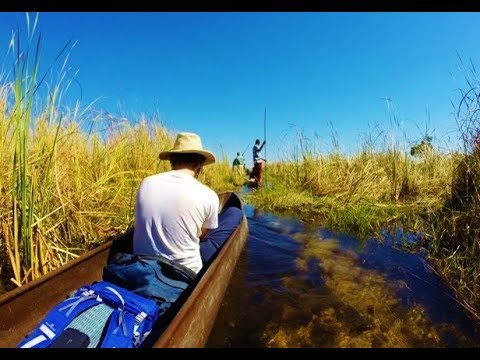 BOTSWANA : Exploring the iconic Okavango Delta - Travel video (GoPro)