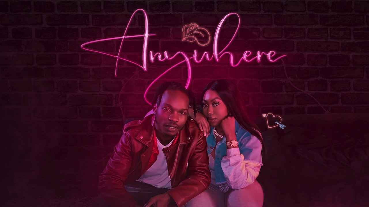 Naira Marley ft Ms Banks - Anywhere (Official Lyric Video)