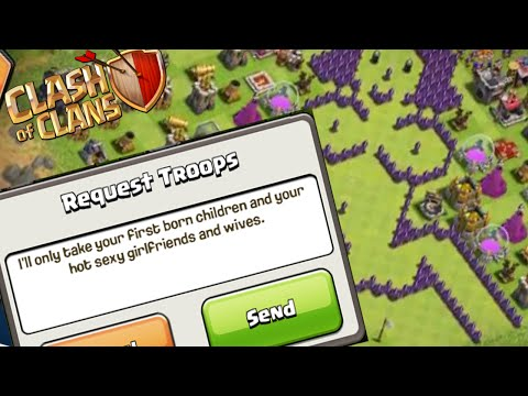 TOP 5 RIDICULOUS SCREENSHOTS IN CLASH OF CLANS