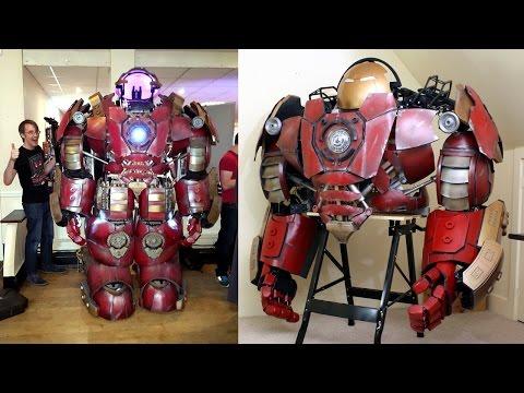 How to Build an Iron Man Hulkbuster Helmet & Suit | James Bruton