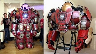 How to Build an Iron Man Hulkbuster Helmet & Suit | XRobots