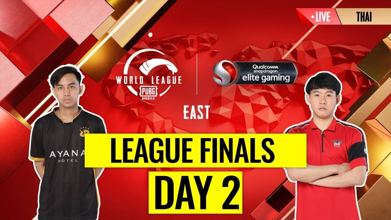 [THAI] PMWL EAST - League Finals Day 2 | PUBG MOBILE World League Season Zero (2020)