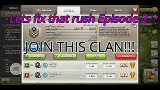 Clash of Clans :Lets fix that rush episode 2.......Only Building upgrades??