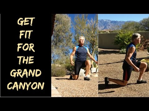How to get fit��️‍♂️ for hiking/backpacking the Grand Canyon