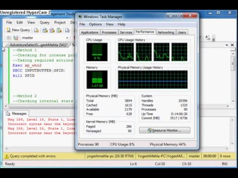 Sql Server 100 Cpu Usage Fix Youtube