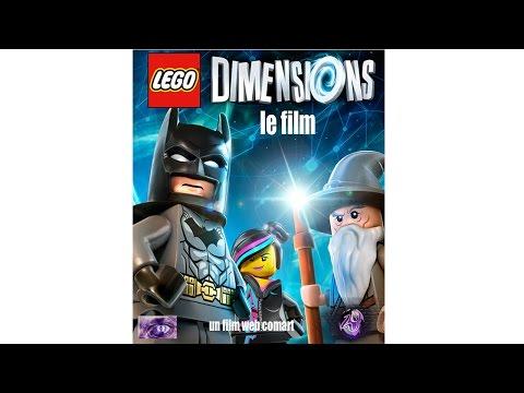 LEGO Dimensions  Le film d'animation complet en Français