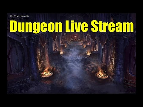 ESO Dungeon Live Stream Session Xbox One