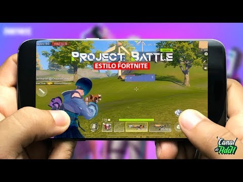 SAIU! NOVO FORTNITE DA NETEASE PARA ANDROID E IOS - Project Battle