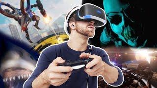 Playstation VR - Die heißesten Spiele für Sonys VR-Brille | deutsch / german