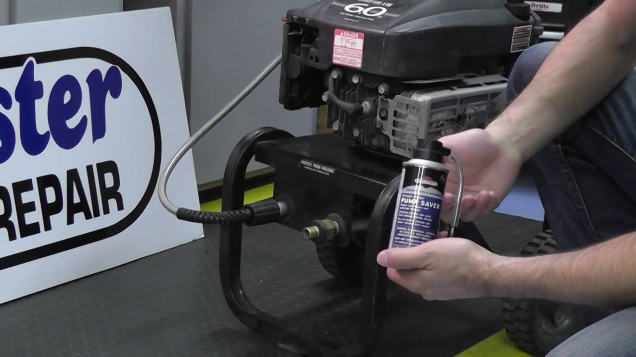How To Store A Pressure Washer Using Briggs And Stratton