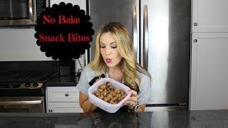 No Bake Oatmeal Peanut Butter Bites