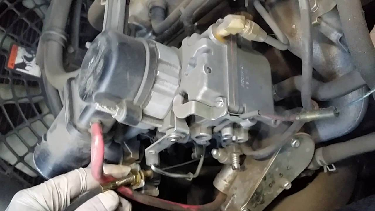 1999 Mazda B3000 Engine Diagram How To Fix Accelerator Cable Youtube