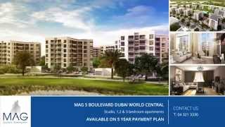 MAG 5 Boulevard in Dubai World Central