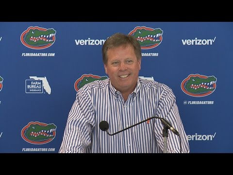 Florida Football: Jim McElwain Press Conference 4-3-17